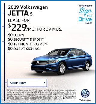 2019 Volkswagen Jetta S November Offer