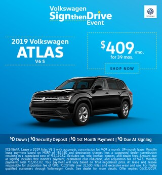 2019 Atlas May Offers