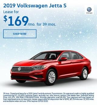 2019 Volkswagen Jetta S Feb Offer
