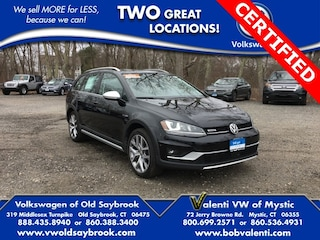 Certified Pre-Owned 2017 Volkswagen Golf Alltrack TSI SEL Wagon for sale in Old Saybrook, CT