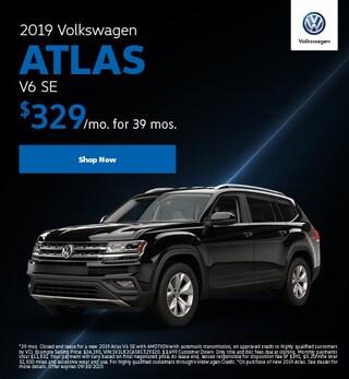 2019 Volkswagen Atlas V6 SE Lease Offer