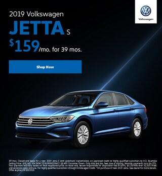 2019 Volkswagen Jetta S Lease Offer