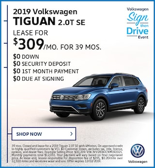 2019 Volkswagen Tiguan 2.0T SE November Offer