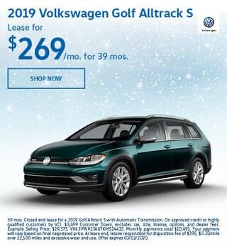 2019 Volkswagen Golf Alltrack S Feb Offer