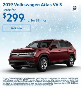2019 Volkswagen Atlas V6 S Feb Offer