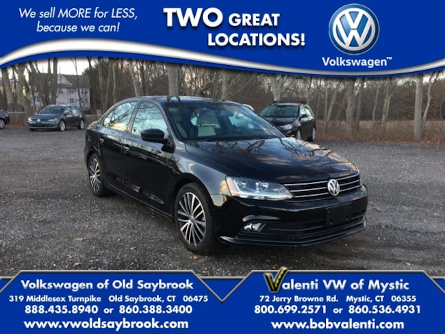 2017 Volkswagen Jetta 1.8T Sport Sedan