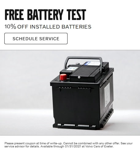 FREE Battery Test and 10% OFF