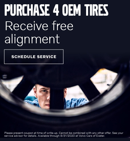 Free Alignment with Purchase of 4 OEM Tires
