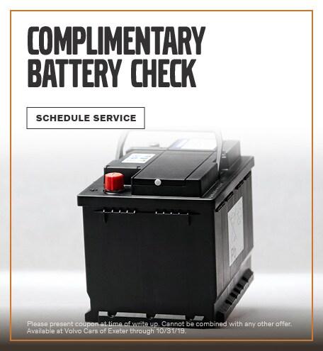 September | Battery Check