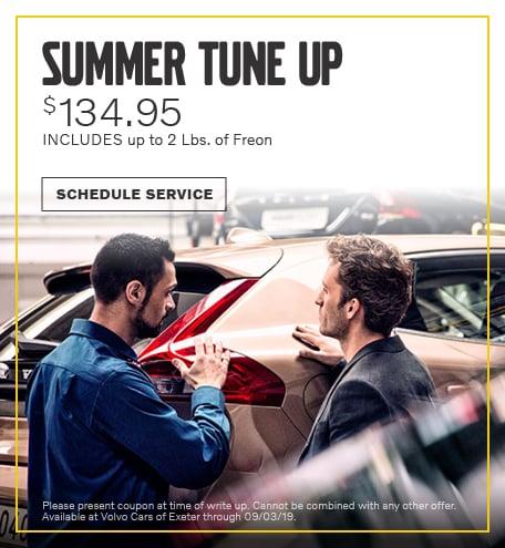 August | Summer Tune Up