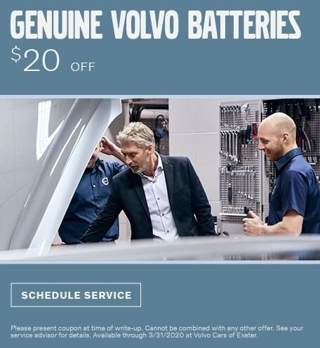 Genuine Volvo Batteries
