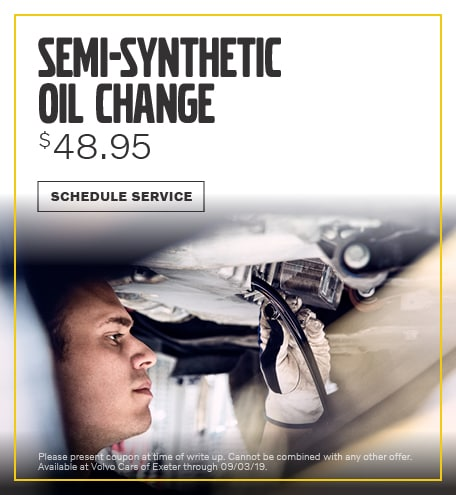 August | Semi-Synthetic Oil Change