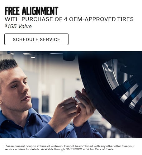 FREE Alignment with 4-Tire Purchase