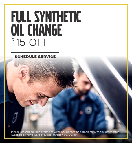August | Synthetic Oil Change