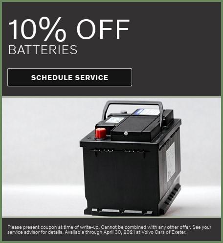 10% Off Batteries