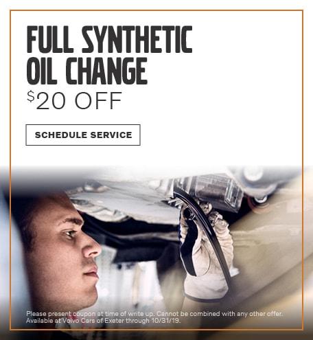 September | Synthetic Oil Change