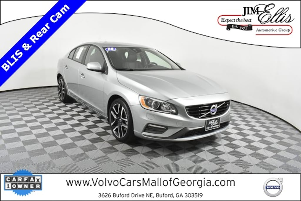 Used 2018 Volvo S60 For Sale at Volvo Cars Mall of Georgia