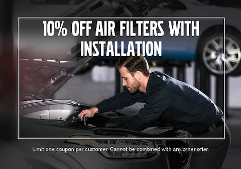 10% Off Air Filters