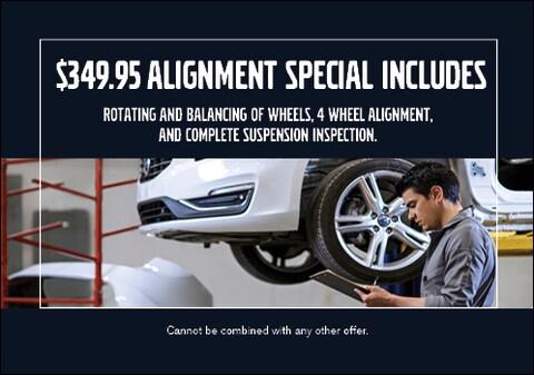 $349 Alignment Special