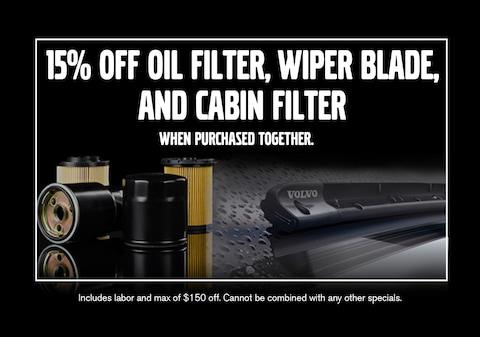 15% off Oil Filter