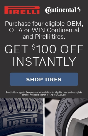 Volvo Tire Rebate Offer