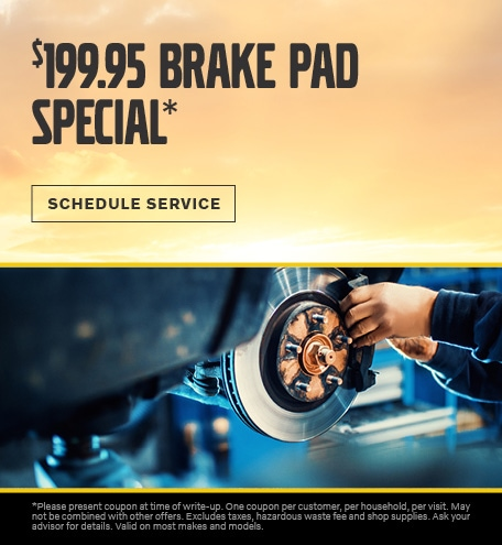 August   Brake Pad Special