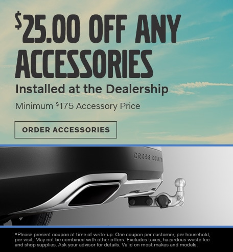June | $25.00 OFF Any Accessories