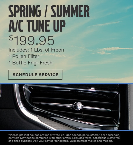 June | Spring / Summer A/C Tune up