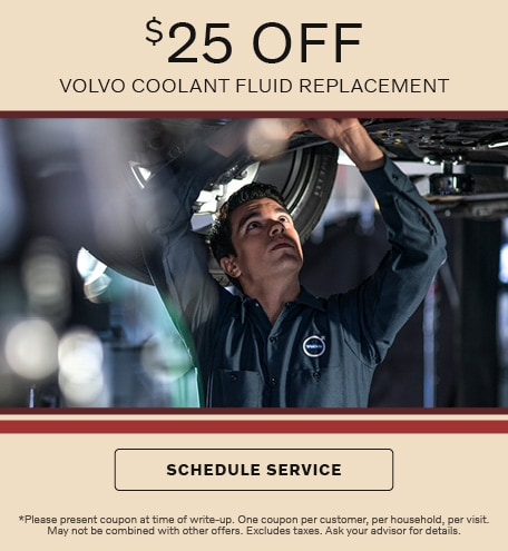 Volvo Coolant Fluid Replacement