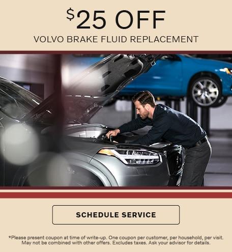 Volvo Brake Fluid Replacement