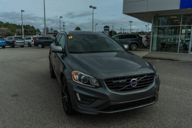 Certified used 2017 Volvo XC60 T6 R-Design SUV in Fayetteville, NC