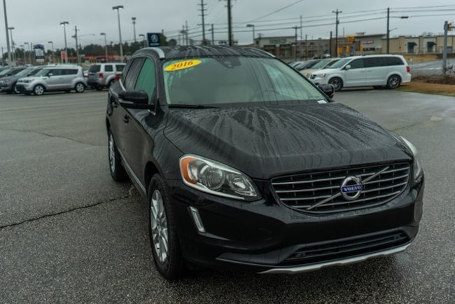 Certified used 2016 Volvo XC60 T5 Drive-E Premier SUV in Fayetteville, NC