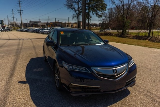 Used 2015 Acura TLX 3.5L V6 Sedan for sale in Fayetteville, NC