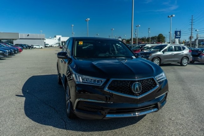 Used 2017 Acura MDX 3.5L SUV for sale in Fayetteville, NC