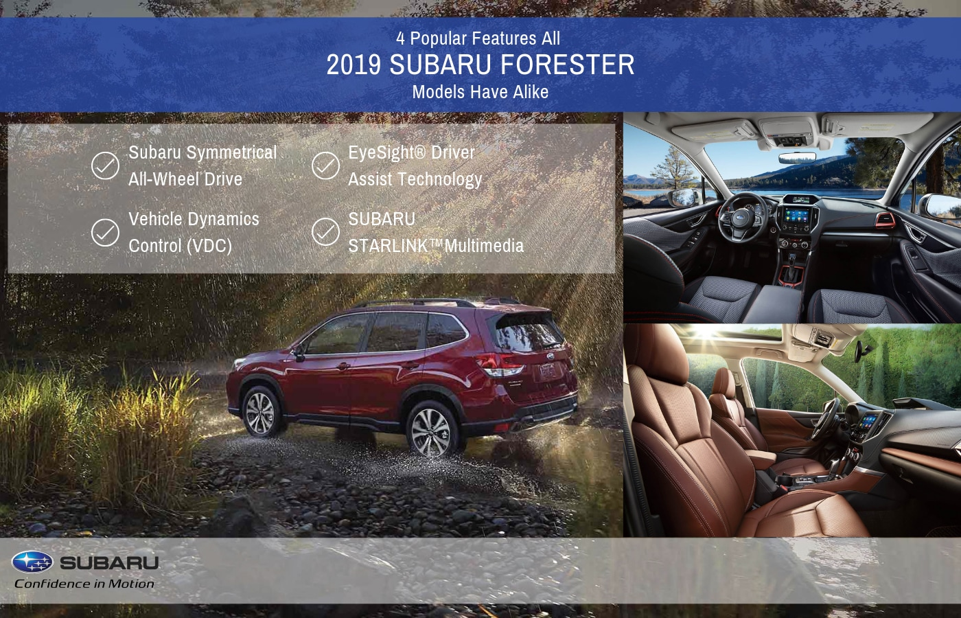 Vehicle Dynamics Control And Other Features Of 2019 Subaru