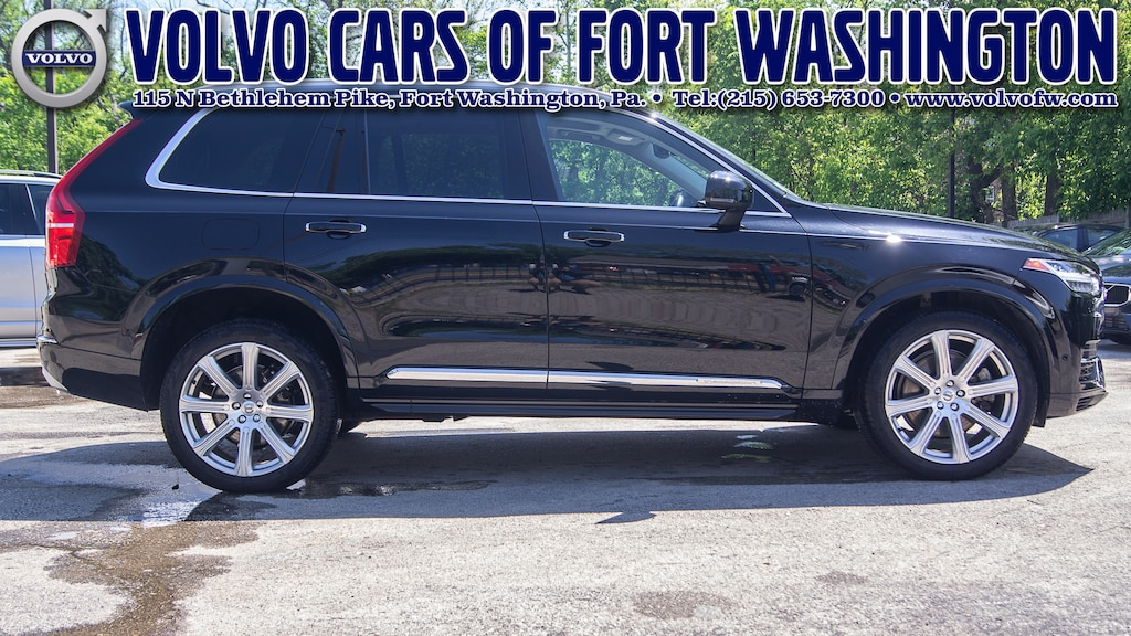 Certified Pre Owned 2017 Volvo Xc90 Hybrid For Sale In Fort Washington Pa Near Philadelphia Norristown East Norriton Huntingdon Valley Pa