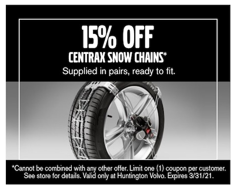 15% Off Snow Chains