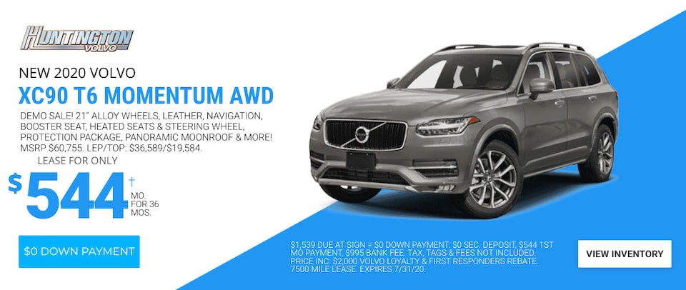 Volvo XC90 Deal - July 2020