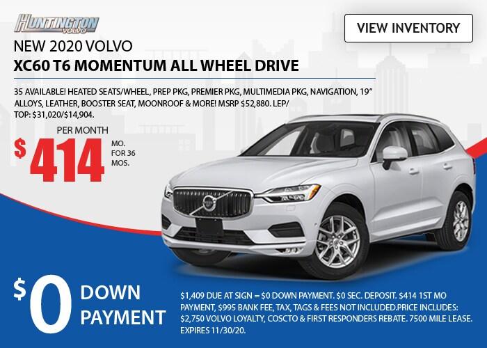 Volvo XC60 Deal - November 2020