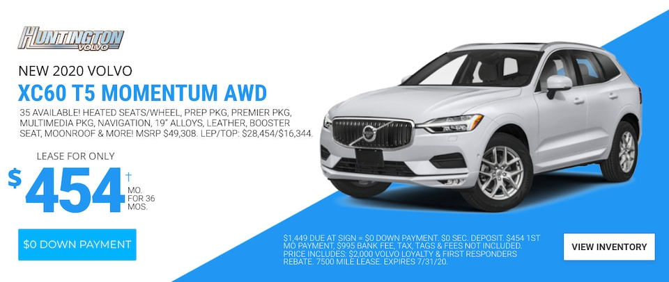 Volvo XC60 Deal - July 2020