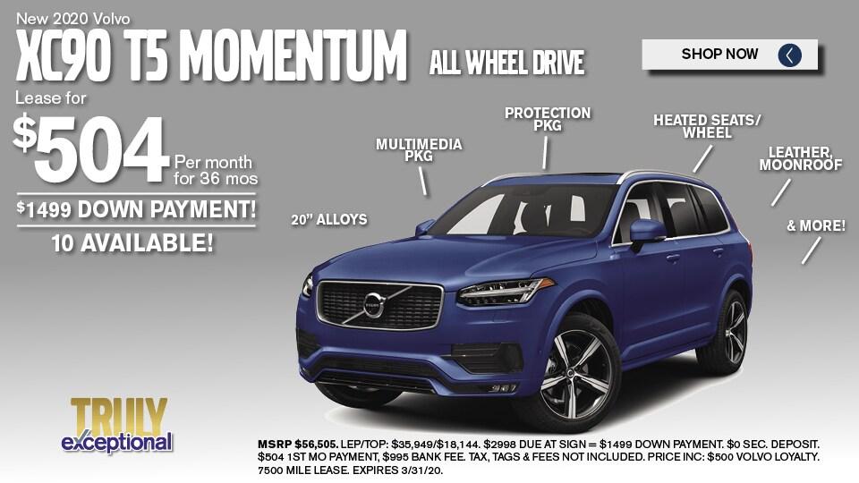 2020 Volvo XC90 Deals March 2020