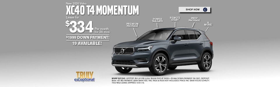 XC40 Lease Special