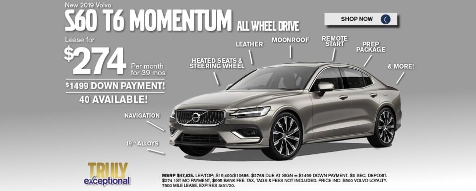 Volvo S60 Deals March 2020