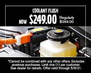 Coolant Flush Special - April 2021