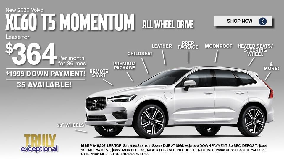 2020 Volvo XC60 Deals March 2020