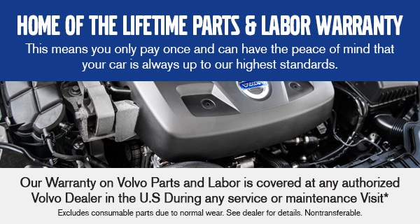 Home of the Lifetime Parts & Labor Warranty