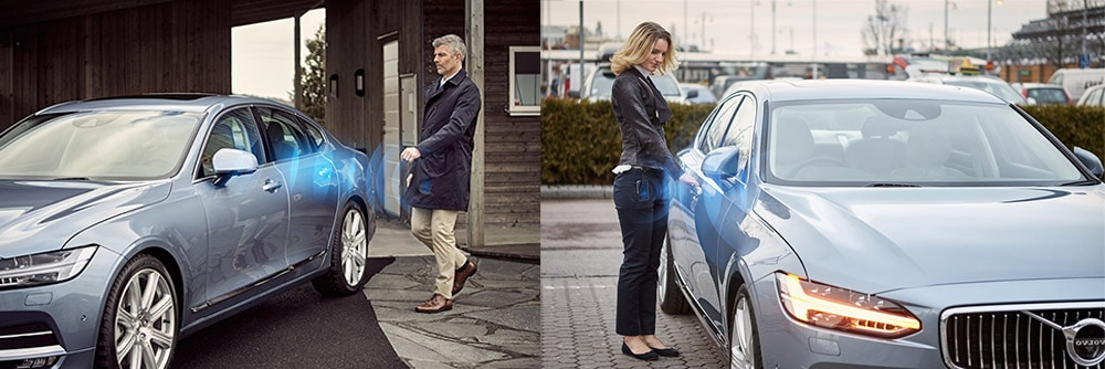 Volvo keyless entry