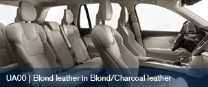 Volvo XC90 Blond Leather