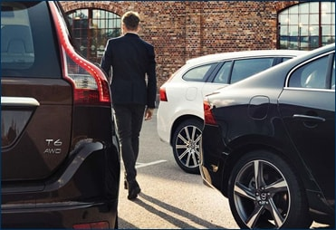 Complimentary use of a Volvo courtesy vehicle during maintenance and service
