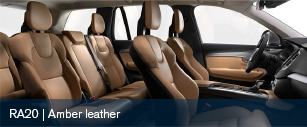 Volvo XC90 Amber Leather